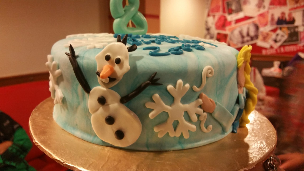 Zara Imran Happy Birthday Cake