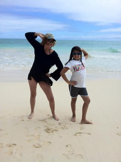Vicci Turner and Satomi Swayne