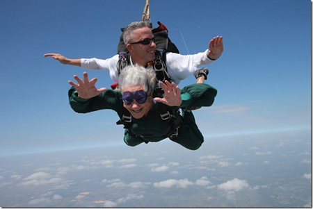 Beverly Page Sky Dives