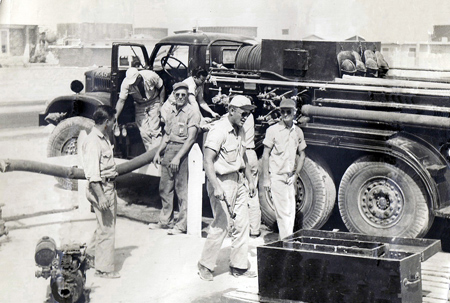 Ras Tanura Fire Department 1950s