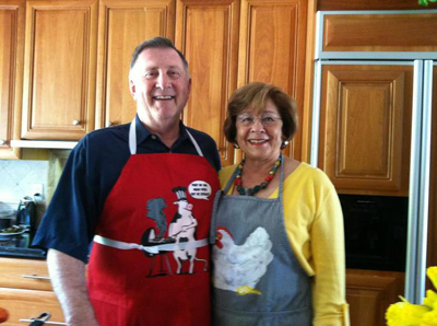 The Happy Cooking Couple