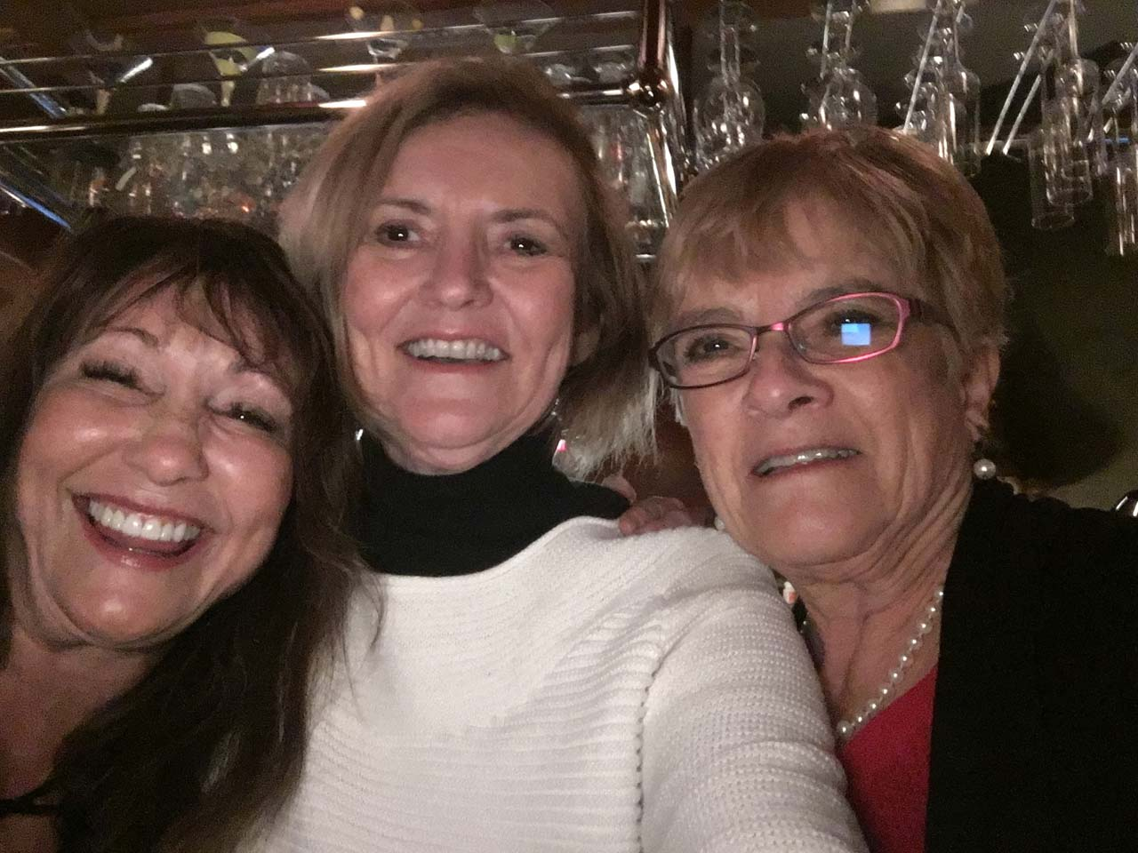 Pamela Bergman, Vicci Turner and Adele Tavares in Texas