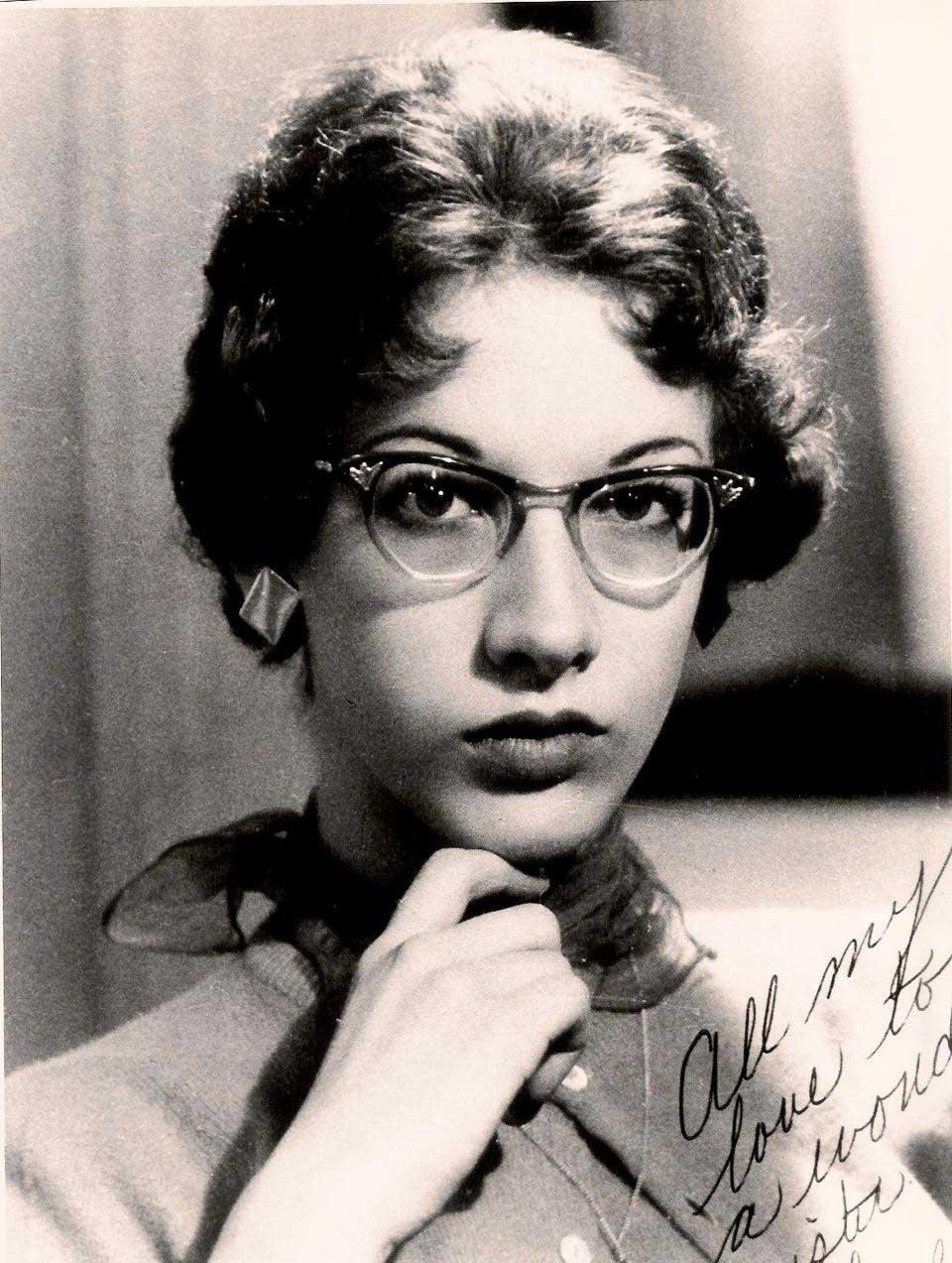 Susan Elizabeth Webster Slavin at age 16