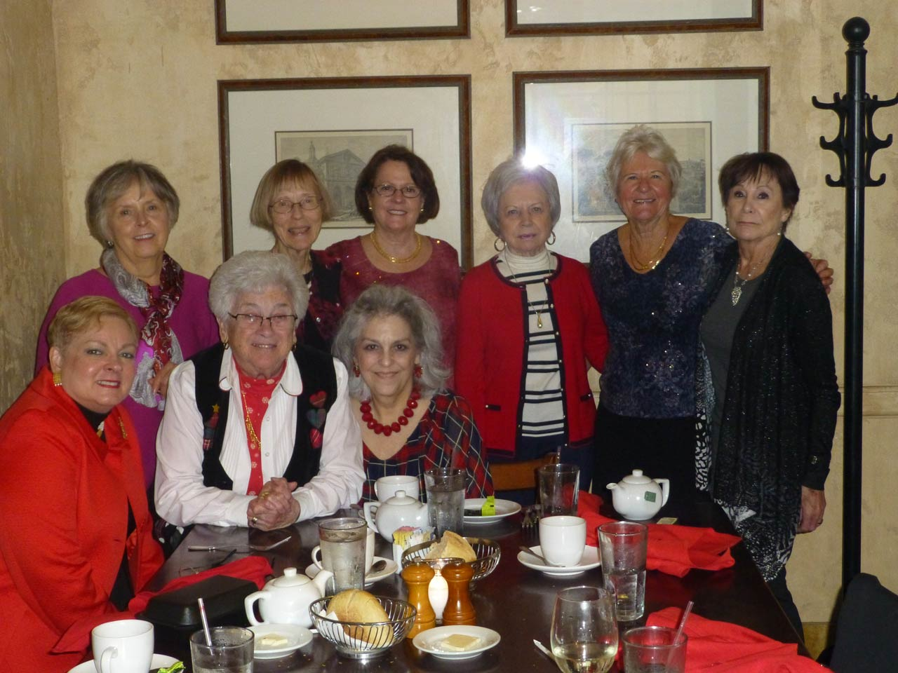 Aramco ladies luncheon at the Brio Tuscan Grille on December 19, 2017