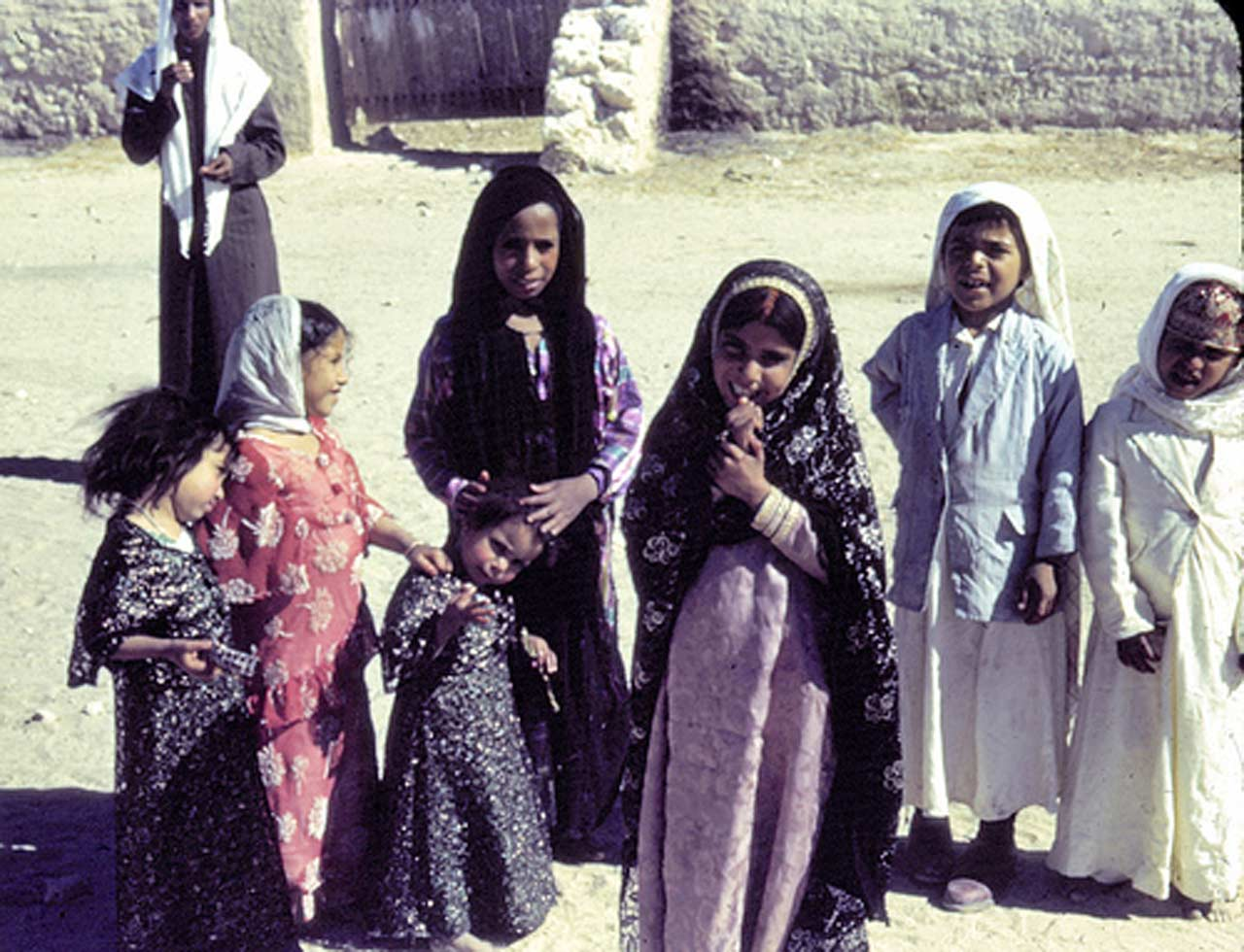 Village Children in Saudi Arabia
