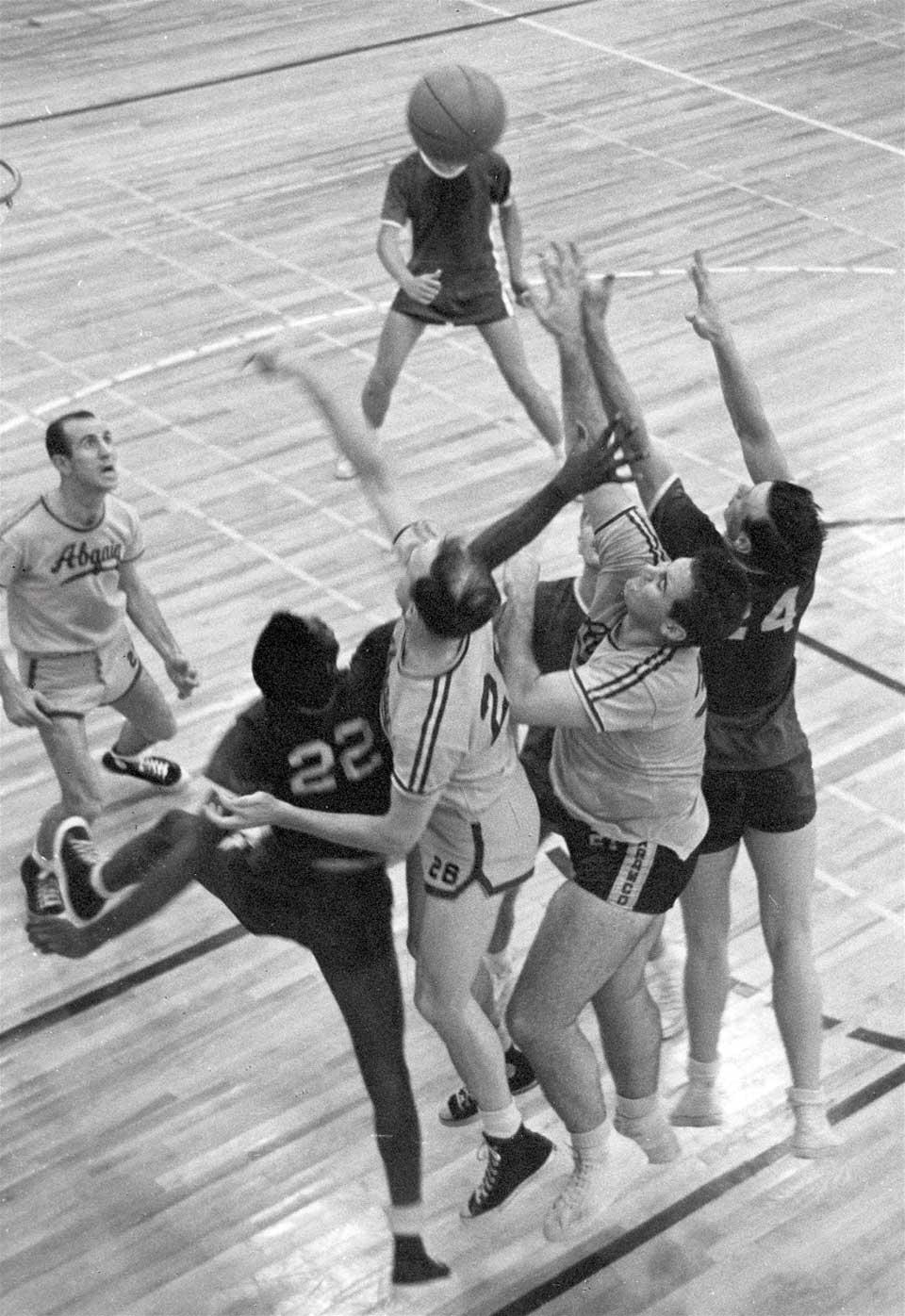Dhahran v. Abqaiq Basketball - 1957