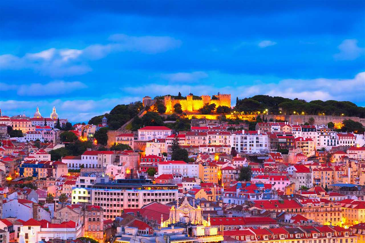 Lisbon in the Evening Light