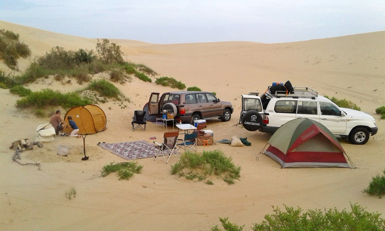 Weekend Camp in the Saudi Desert