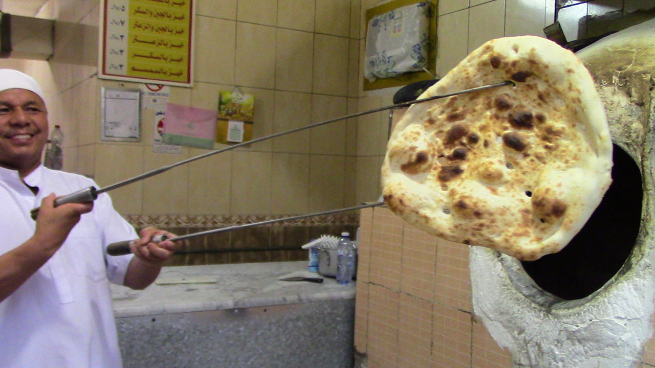Fresh Arab Bread in Dammam