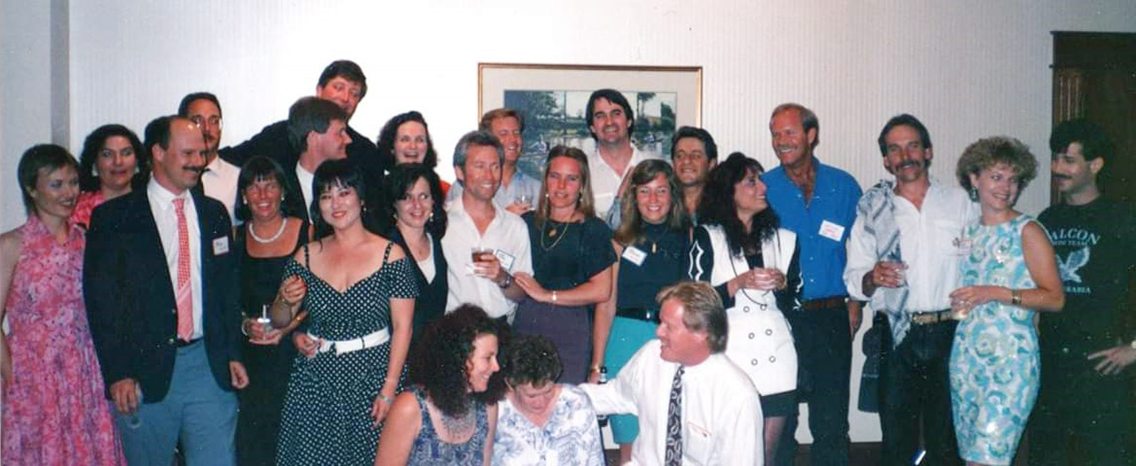 Class of '72 at the Aramco Brats Reunion in 1991