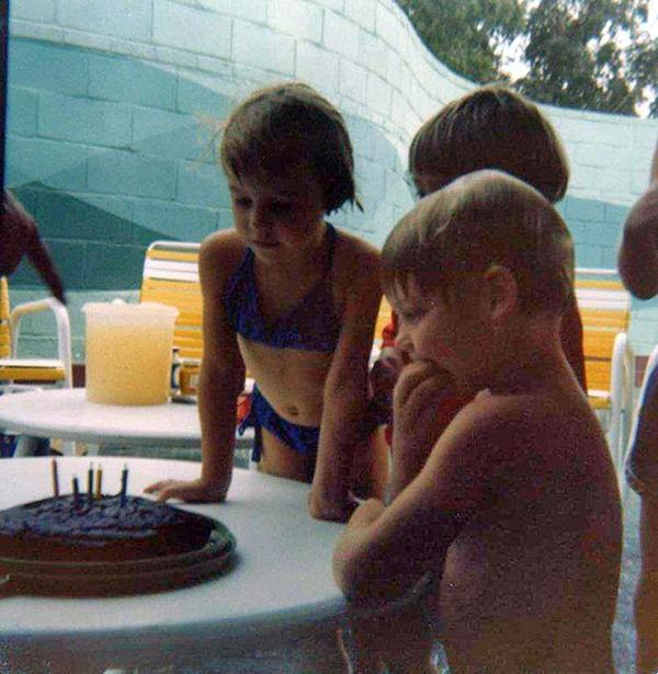 Abqaiq Pool Party - 1979