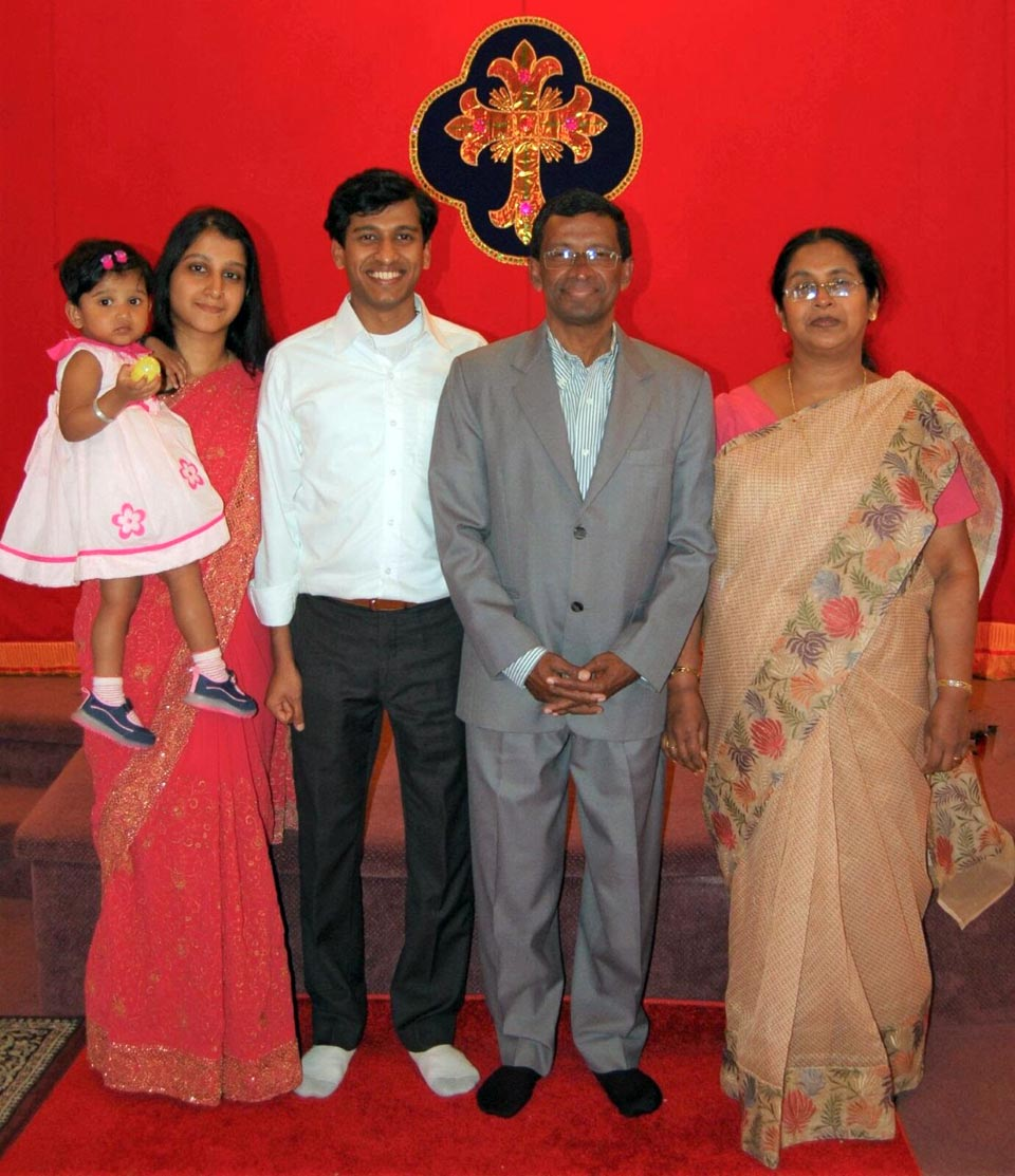 Sunnykutty George and His Family