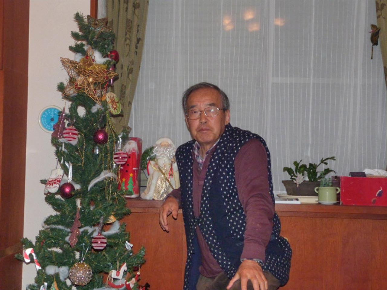 Eiichi Nakamura Home for Christmas
