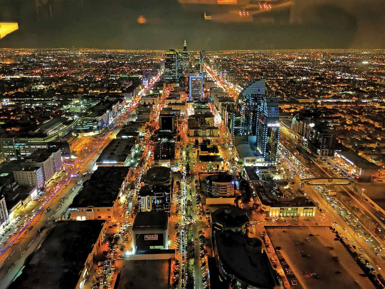 Moncito Regondon Jr. captured this stunning view of Riyadh while there on a business trip last November. Taken from the 77th floor of the Spazio Restaurant. Regondon Jr. lives and works in Ras Tanura.