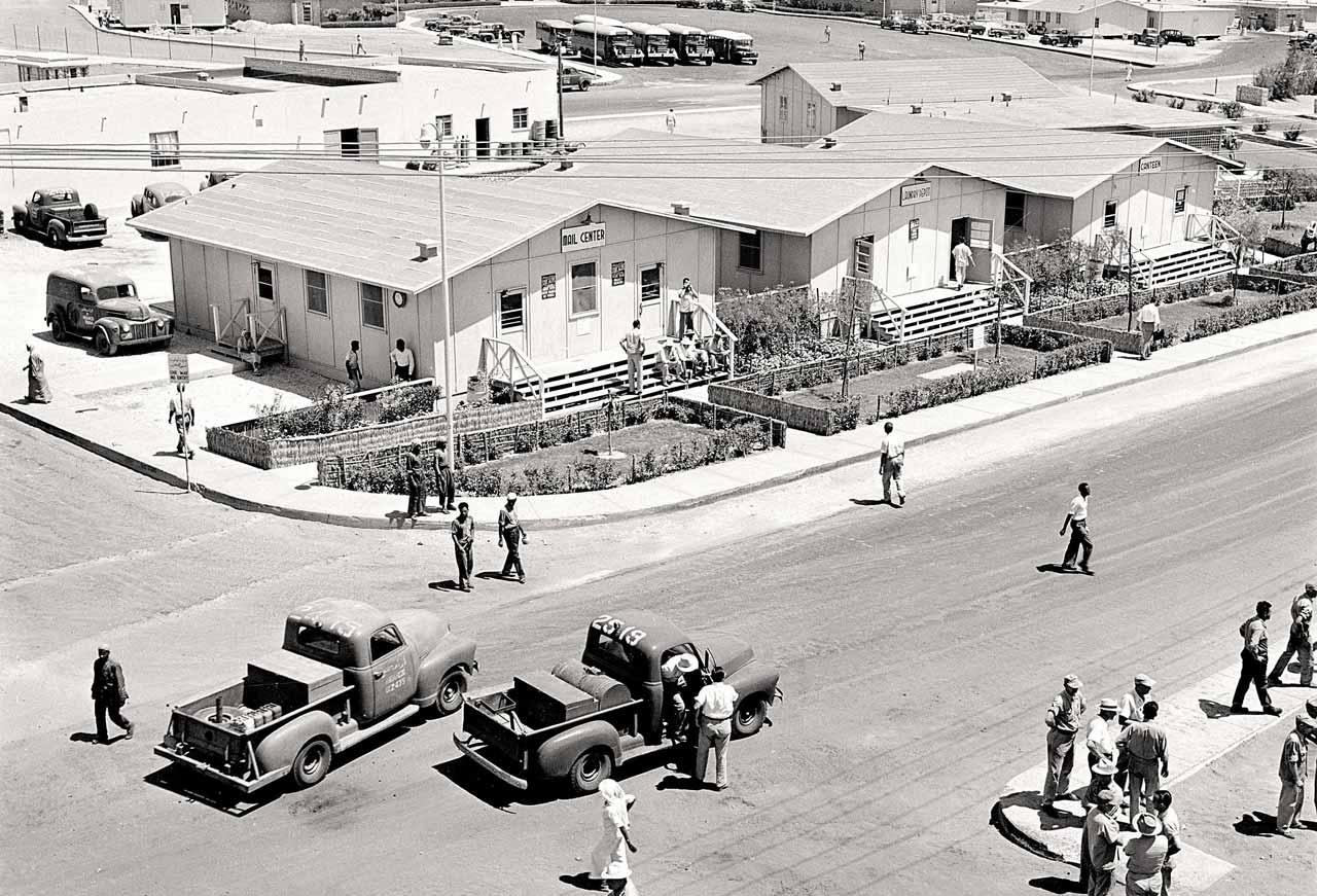 The Heart of Dhahran - 1952