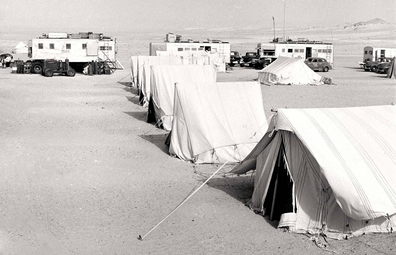 Tent Camp Near Hofuf