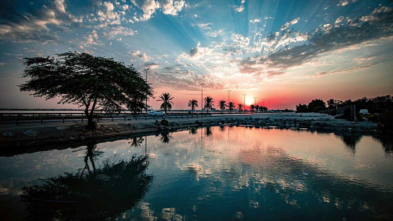 A Summer Sunrise in al-Khobar