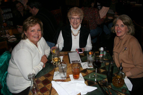 Martha Moore Joins Sheila Stevens and Paula Gay for Dinner