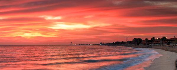 Sunrise in Ras Tanura
