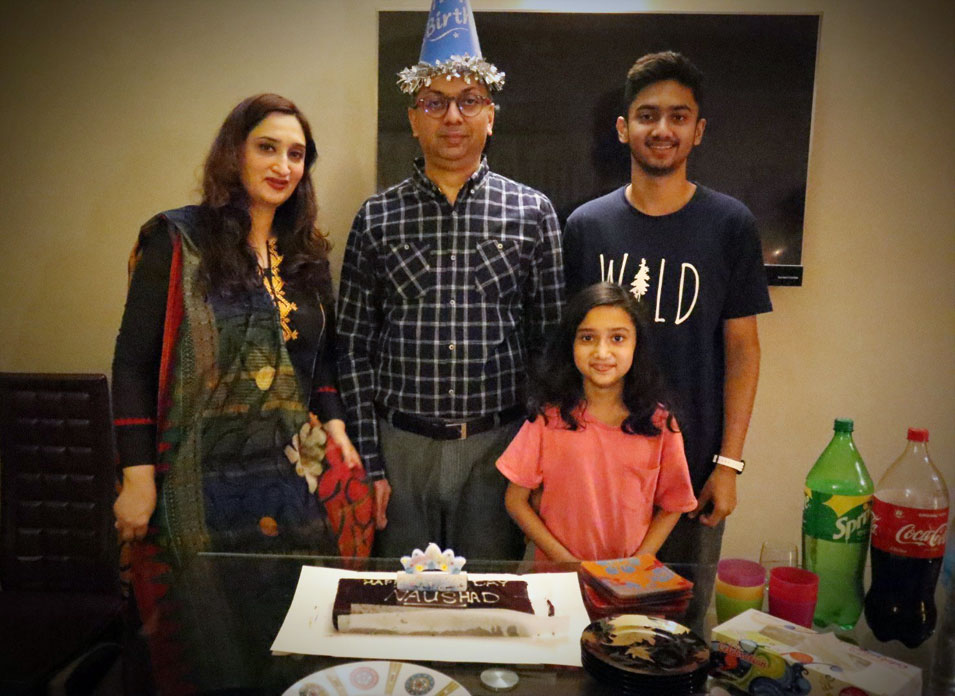 Happy Birthday Engr. Syed Naushad Shah