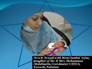 Aramco Brats Sunbul and Irfan Farooqui Welcome Twins