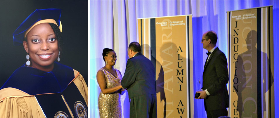Dr. Zakiya Ayo-Zahra Seymour Inducted into Georgia Tech Council of Outstanding Young Engineering Alumni