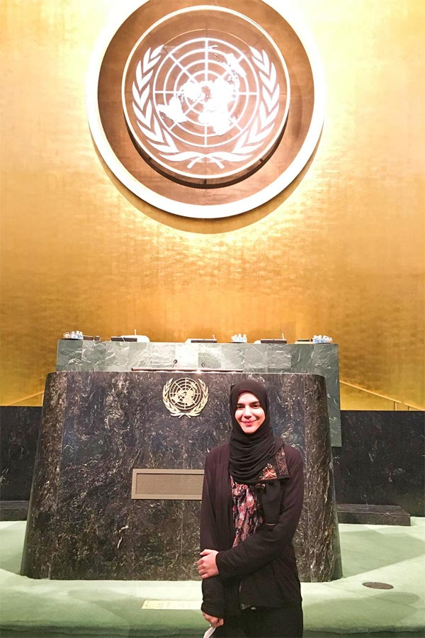 Recent Graduate, Maryam Khan, Recognized for Bold Vision