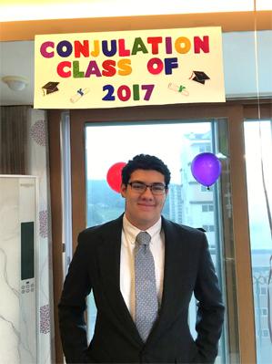 Announcing the Graduation of Jacob Swayne