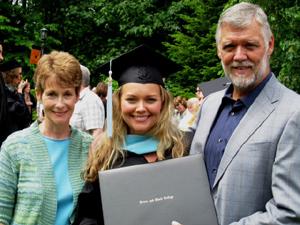 Kathryn Franck Graduates from Lewis & Clark Graduate School
