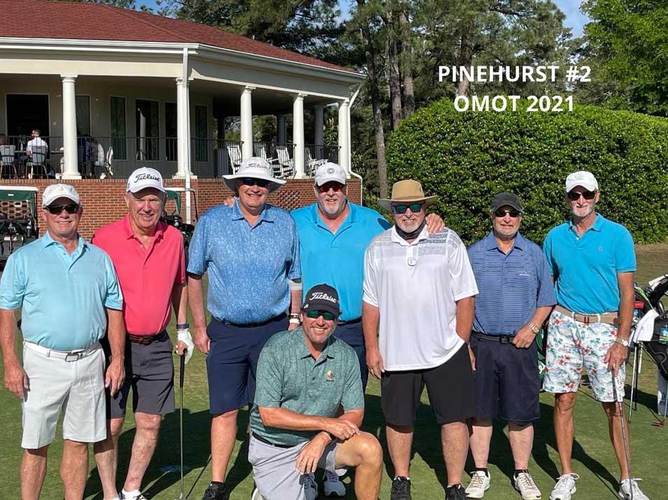 Aramco Golfers Bag Pinehurst, Another Bucket List Course
