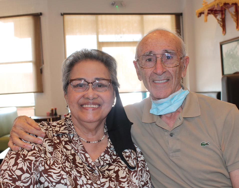 60th Wedding Anniversary of Abdul-Karim G. Hedjazi and Sururul-Ain Ututalum Hedjazi