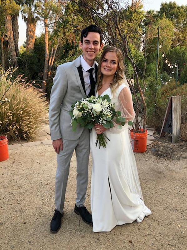 Bryce Jordan Abilez Weds Caley Merrill