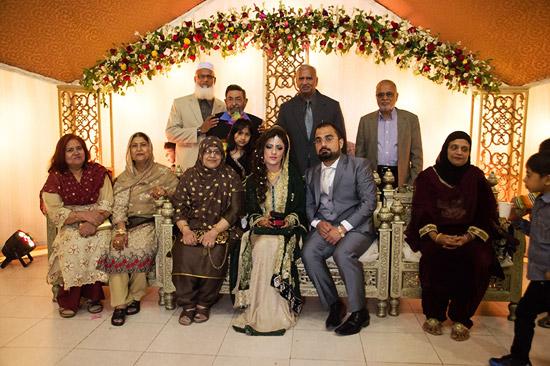 Sitting-Mrs. MA Matin-Mrs. M Siraj-Mrs. Mahmood Hussain-Shumaila-Standing-M Siraj-Mahmood Hussain-G Qurub Khan-MA MatinFarhan