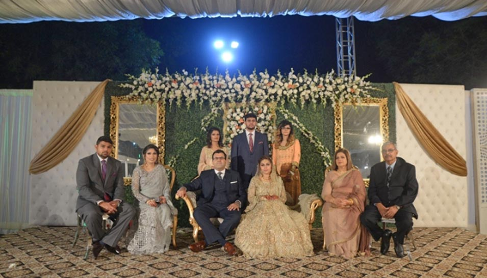 Isra Arif Weds Saad Ahmed