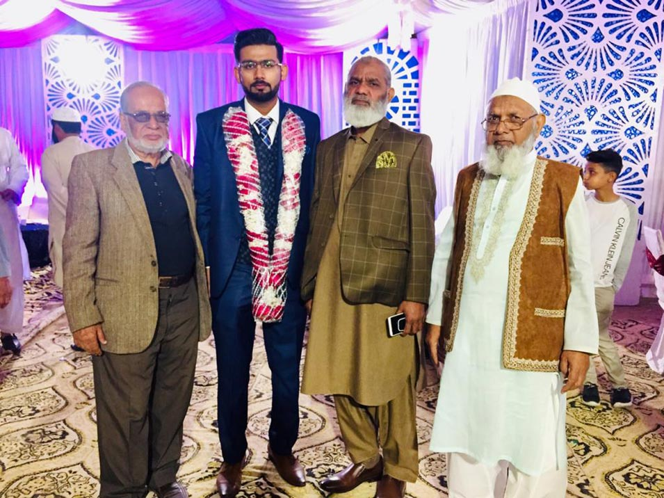 Khalil Uddin Qureshi Hosts Valima Dinner for Son Hamza Khalil Qureshi