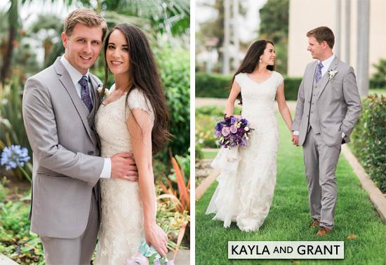 Granddaughter, Kayla Ann Abilez Weds Grant Heron