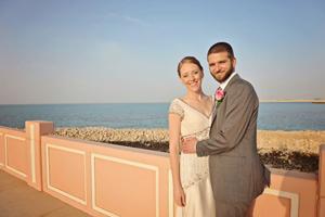 Aramco Brats Cody Martin and Natasha Burge Wed