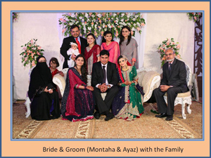 Montaha Alavi and Ayaz Jafri Wed