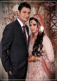 Shehzad Salim and Sara Aslam