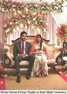 Nikah Ceremony for Kiran Shaikh