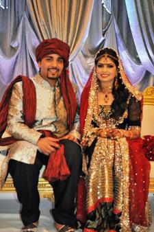 Sophia qureshi wedding