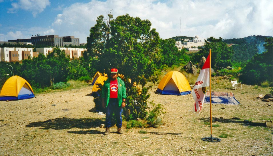1998 Abqaiq Troop 256 Campout and a Tribute to Cornell Seymour
