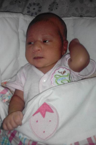Baby Girl Muntaha Shahzad