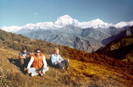 Grass Gatherers above Pokhara, Nepal