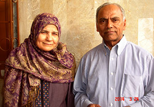 Mrs. Azra Ahmed and Engr. Mohammed Ahmed