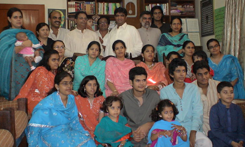 Iqbal Khan and Family