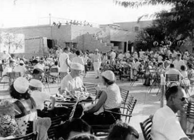 'The Patio' circa 1949