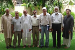 SAEEA Group at Ghulam Qutub Khan's Residence