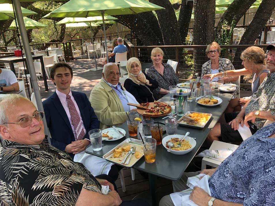 Luncheon with Ali and Amira Al-Baluchi