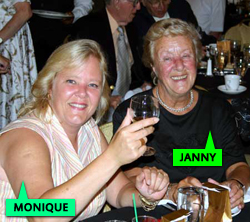 Janny and Monique